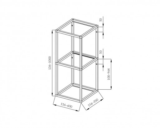 <b>WALL-MOUNTED VERTICAL SYSTEM</b>