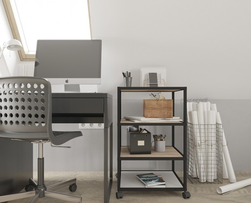 SHELVING SYSTEMS. THE CUBE