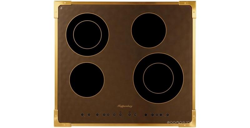 Поверхность электрическая Kuppersberg FA6RC Bronze
