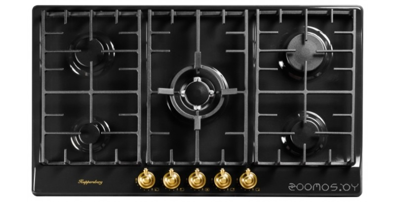 Поверхность газовая Kuppersberg FV9TGRZ ANT Bronze