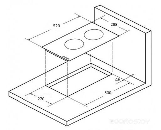 Поверхность индукционная Kuppersberg ICO 302